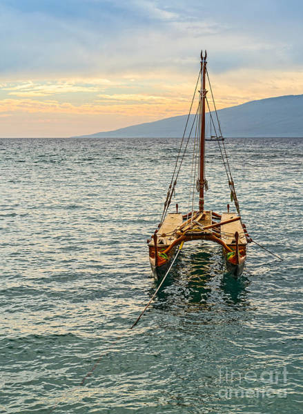 Outrigger Canoe Photograph - Traditions At Sea by Jamie Pham