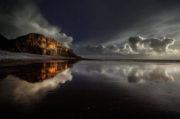 Cardiff Photograph - Traeth Mawr Heritage Coastline by Unique Landscape Images
