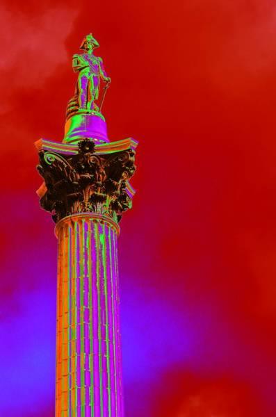Photograph - Trafalgar In Red by Richard Henne