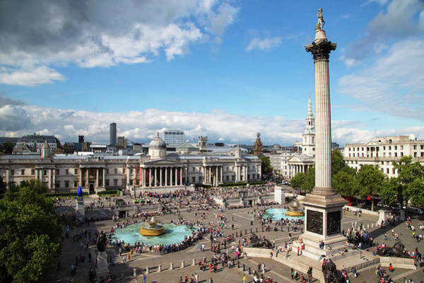 Mark Iv Wall Art - Photograph - Trafalgar Square by Mark Thomas