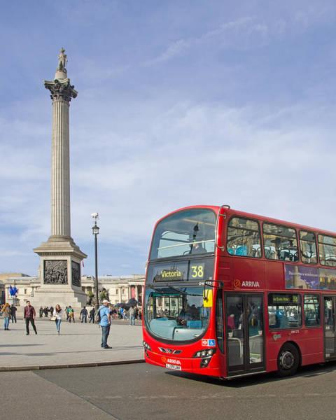 Arriva Photograph - Trafalgar Square by Paul Martin