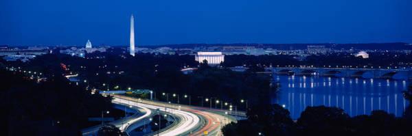 Washington Street Photograph - Traffic On The Road, Washington by Panoramic Images