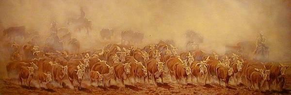 Painting - Trail Dust by Tim  Joyner