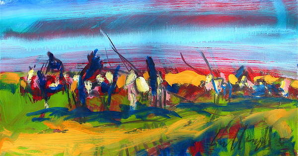 Painting - Trail Of Tears by Les Leffingwell