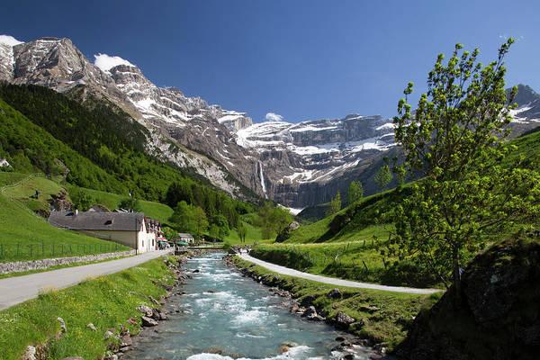 Trail To Cirque De Gavarnie, Pyrenees Art Print