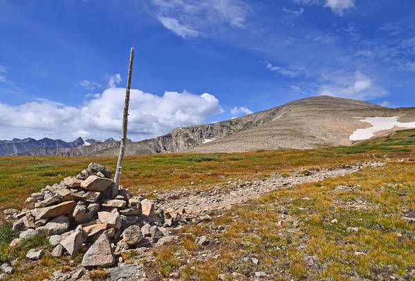 Wall Art - Photograph - Trail To Mt. Audobon by Robert VanDerWal