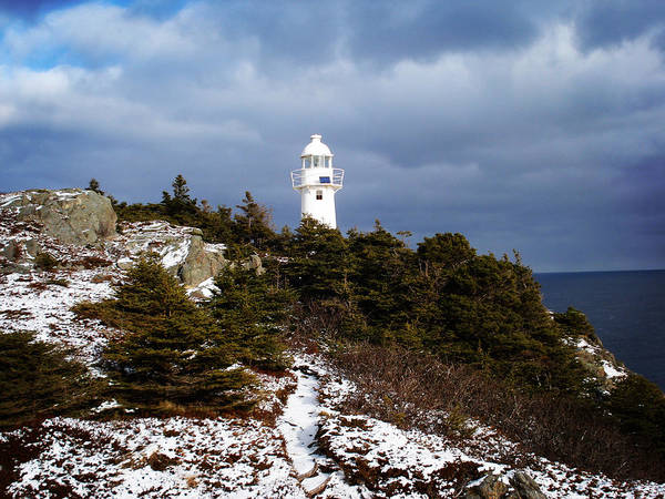 Trail To The Lighthouse Art Print