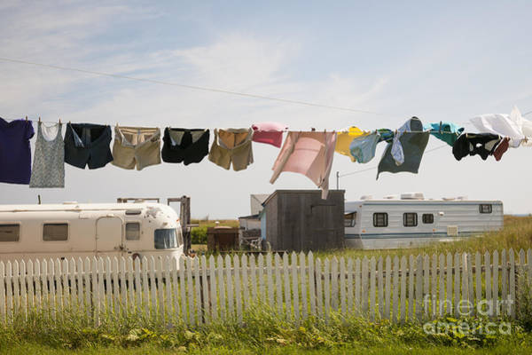 Wall Art - Photograph - Trailers In North Rustico by Elena Elisseeva