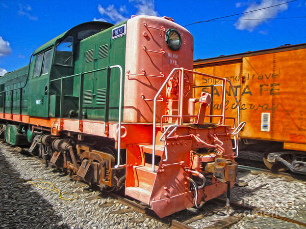 Photograph - Train - 01 by Gregory Dyer