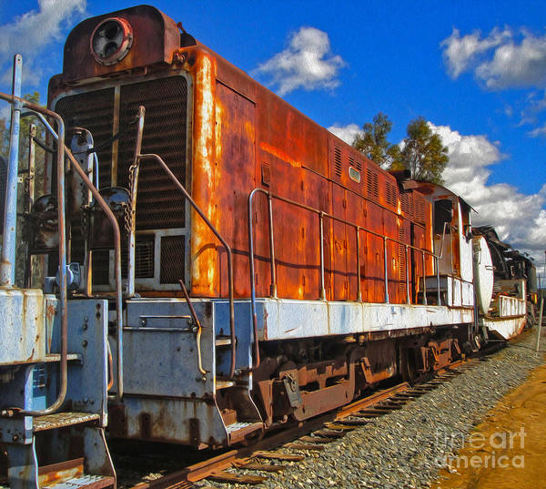 Photograph - Train - 02 by Gregory Dyer