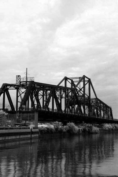 Photograph - Train Bridge by Beverly Stapleton