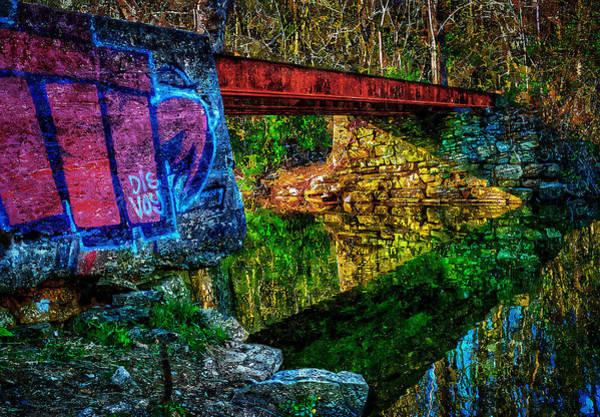 Painting - Train Bridge by Rick Mosher