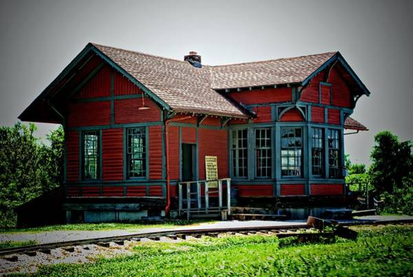 Photograph - Train Depot by Tim McCullough
