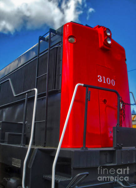 Photograph - Train Engine by Gregory Dyer