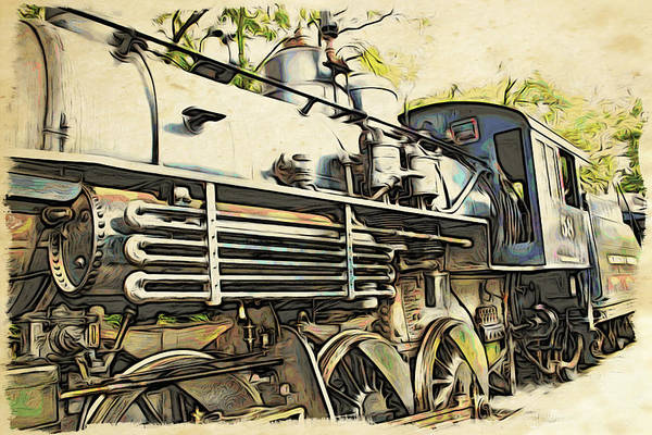 Photograph - Train Is Coming Two by Alice Gipson