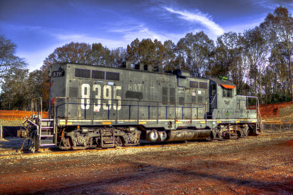 Photograph - Almost Forgotten Illinois Central Gp 10 Locomotive by Reid Callaway