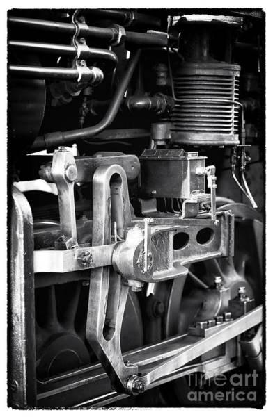 Photograph - Train Pistons by John Rizzuto
