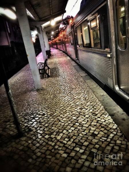 Commuter Rail Wall Art - Photograph - Train Station by Carlos Caetano