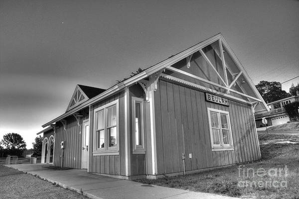 Depot Photograph - Train Station In Beulah by Twenty Two North Photography