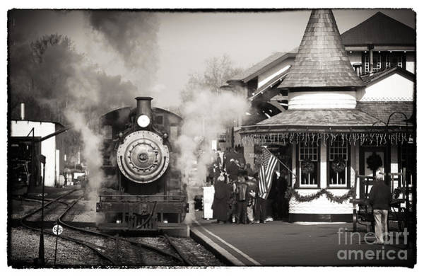 Photograph - Train Station by John Rizzuto