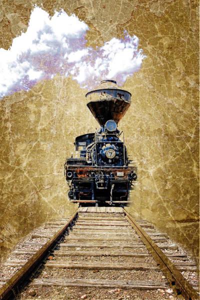 Wall Art - Photograph - Train by Steve McKinzie