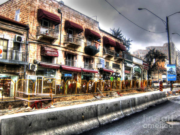 Photograph - Train Stop In Jerusalem by Doc Braham