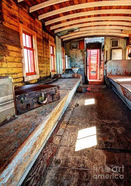 Photograph - Train Time Travel by Mel Steinhauer