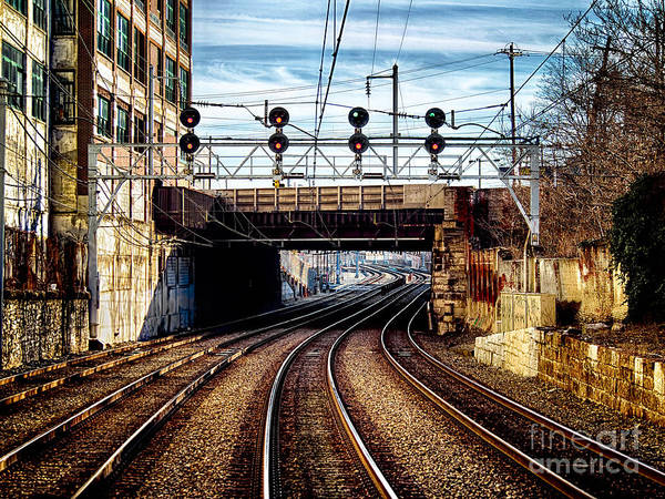 Photograph - Train To Philly by Mark Miller