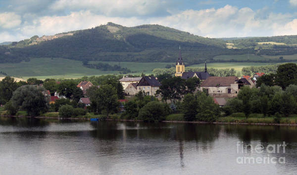 Photograph - Train To Prague - Village by Gregory Dyer