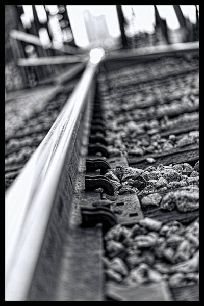 Photograph - Train Track  by Jonathan Davison