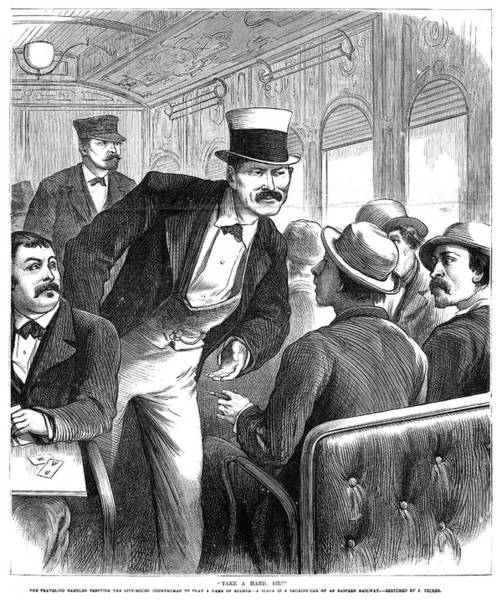 Painting - Train Travel, 1873 by Granger