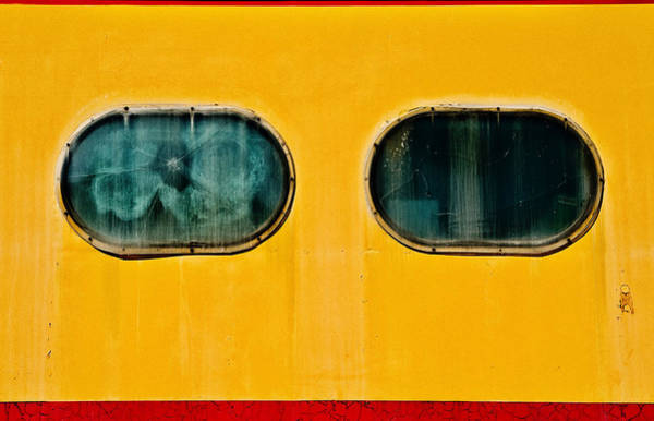 Photograph - Train Window by Bud Simpson