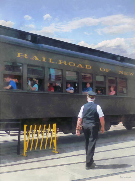 Photograph - Trains - All Aboard by Susan Savad