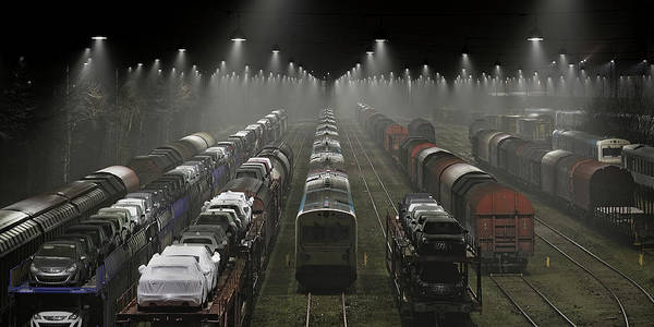 Transport Photograph - Trainsets by Leif L?ndal