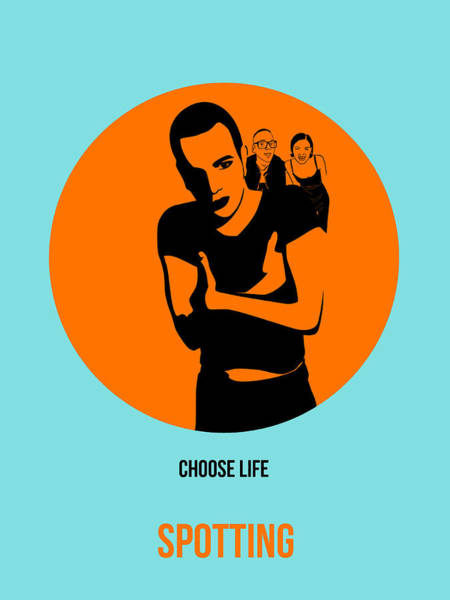 Wall Art - Painting - Trainspotting Poster 1 by Naxart Studio