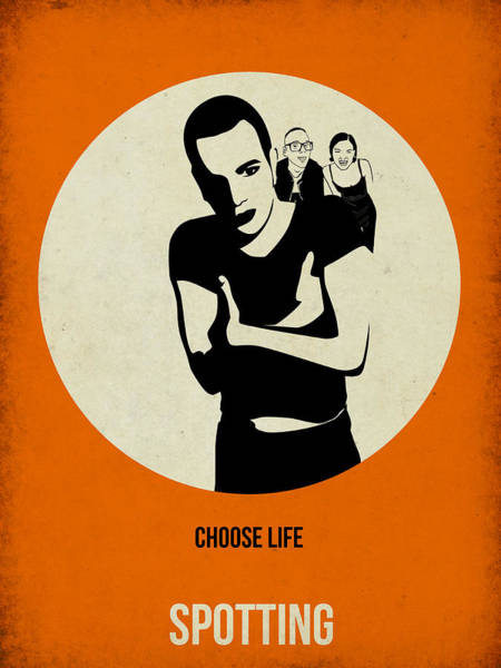 Cinematography Painting - Trainspotting Poster by Naxart Studio