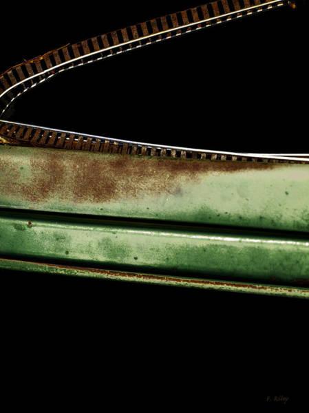 Photograph - Trak Curve by Fran Riley
