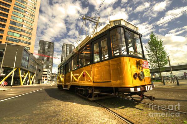 Wall Art - Photograph - Tram Of Rotterdam by Rob Hawkins