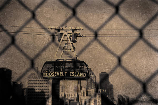 Roosevelt Island Wall Art - Photograph - tramming It by Eric Ferrar