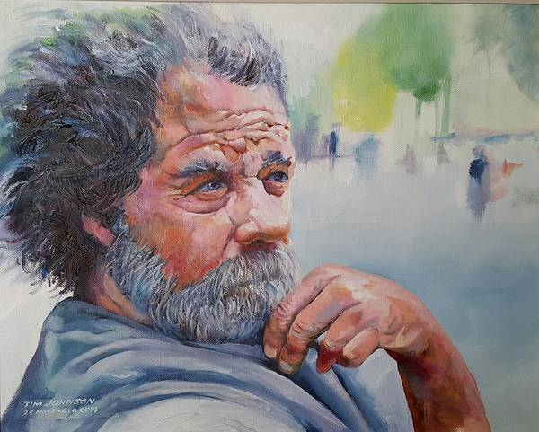 Painting - Tramp O'lean by Tim Johnson