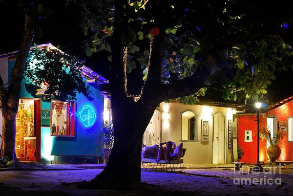Photograph - Trancoso - Bahia - By Night by Carlos Alkmin