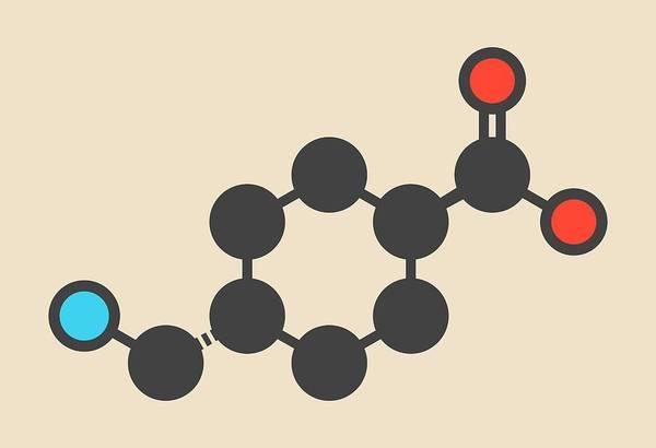 Fibrin Wall Art - Photograph - Tranexamic Acid Antifibrinolytic Molecule by Molekuul