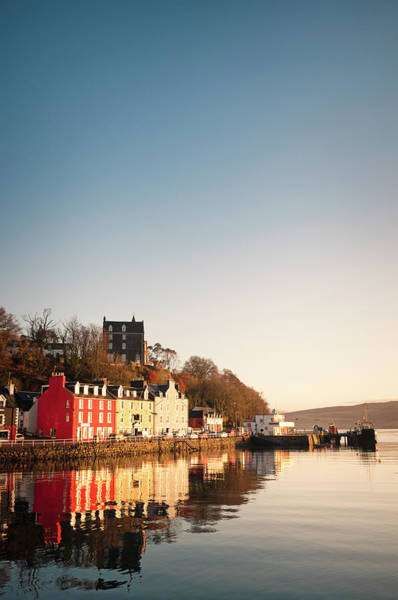Quayside Photograph - Tranquil Tobermory Morning by Georgeclerk