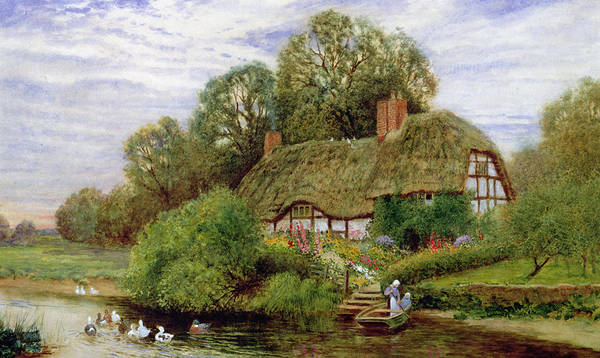 Tranquility Painting - Tranquility by Arthur Claude Strachan