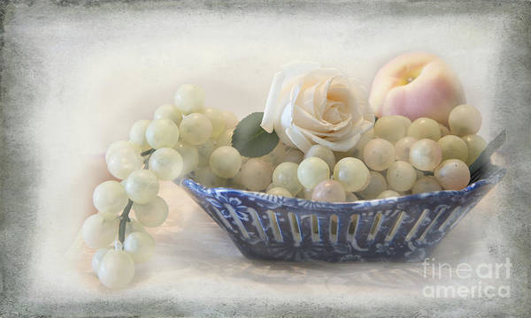 Rose Bowl Photograph - Tranquility by Betty LaRue