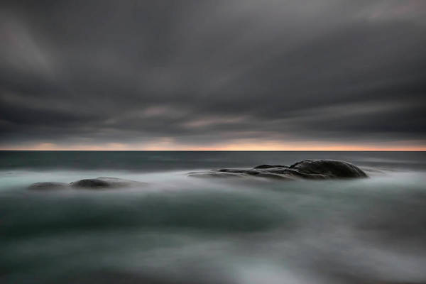 Rock Photograph - Tranquility by Christian Lindsten