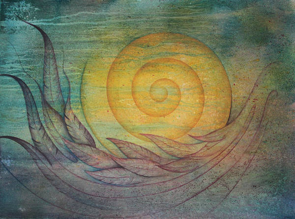 Wall Art - Painting - Tranquility by Ellen Starr