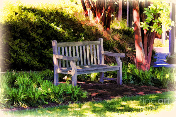 Tranquility In The Park Art Print