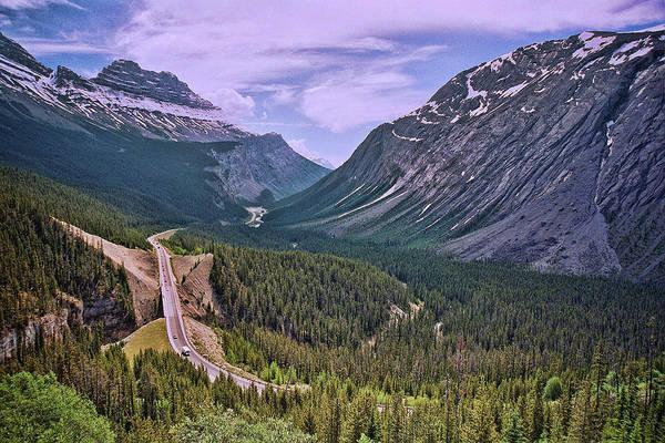Wall Art - Photograph - Trans - Canada Highway by Allen Beatty