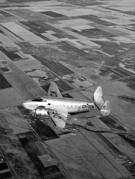 Photograph - Trans-canada Passenger Plane by Underwood Archives